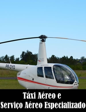 Táxi Aéreo e Serviço Aéreo Especializado